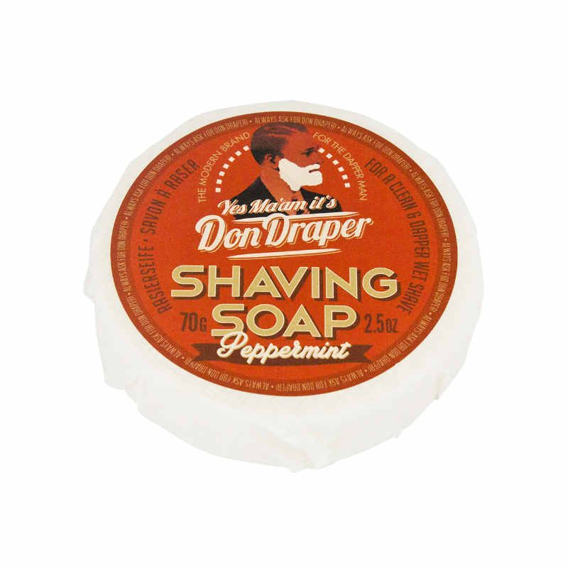 Don Draper Shaving Soap Peppermint
