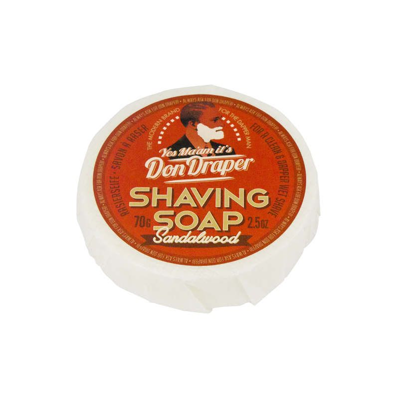 Don Draper Shaving Soap Sandalwood