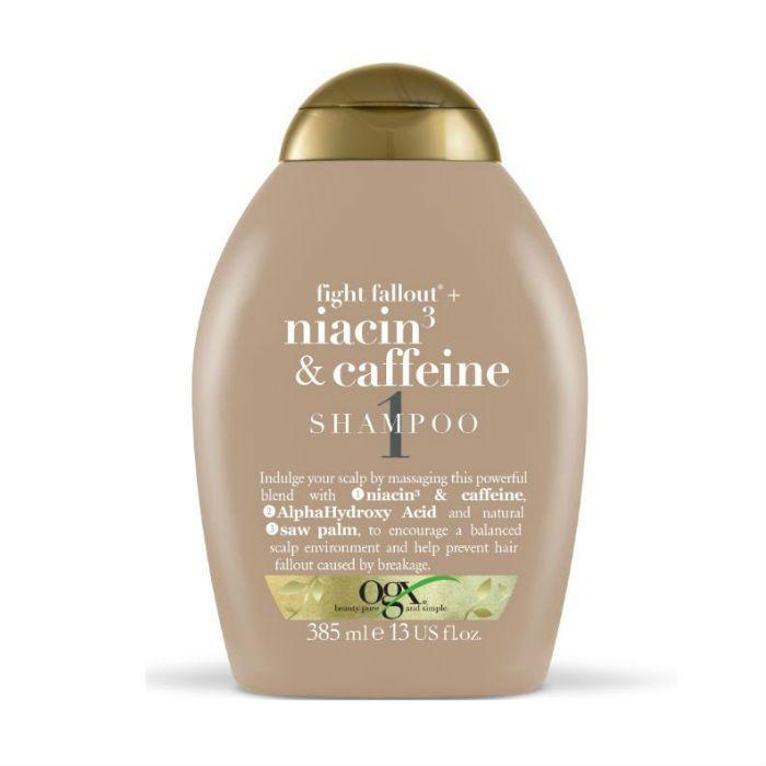 Ogx Anti-Hair Fallout Niacin Caffeïne Shampoo