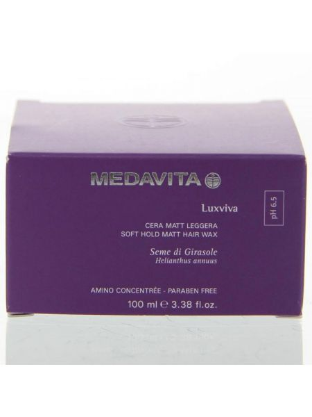 Medavita Luxiviva Soft Hold Matt Hair Wax