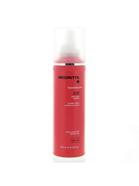Medavita Hairchitecture Soft Hold Mousse