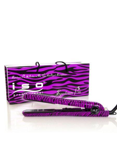 ISO Spectrum Pro Stijltang Zebra Paars