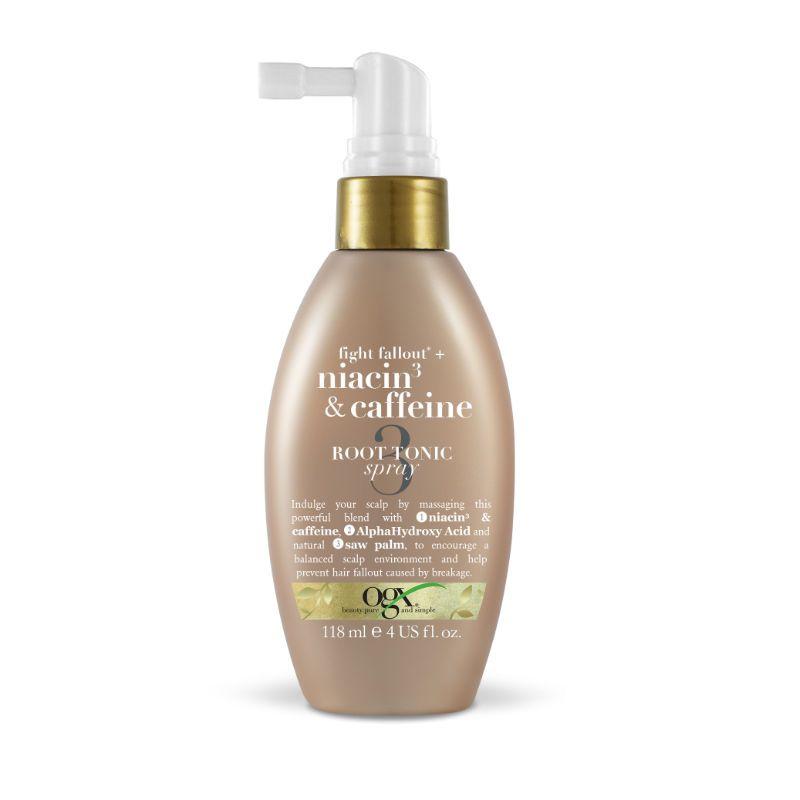 Ogx Anti-Hair Fallout Niacin Caffeine Root Stimulator Spray