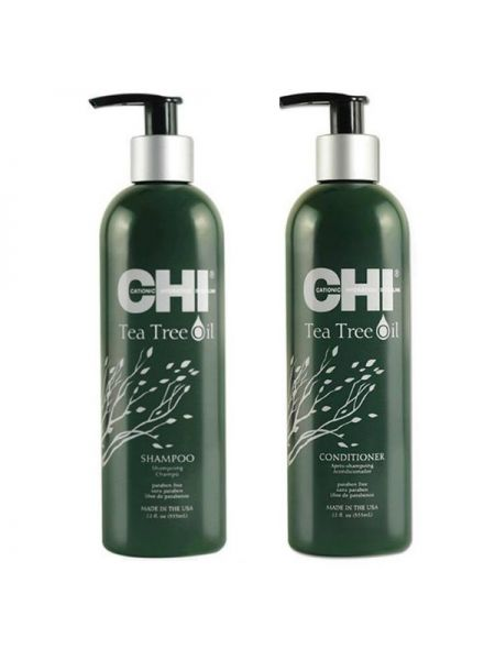 CHI Tea Tree Oil Duo Shampoo + Conditioner 355ml