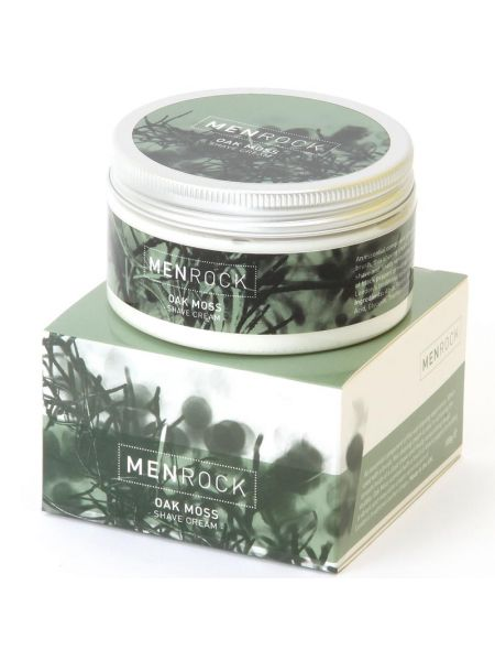 Men Rock The Shave Cream Oak Moss