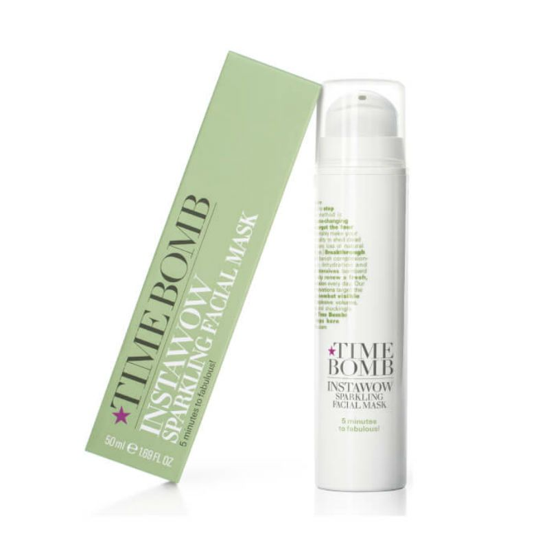 Time Bomb Instawow Sparkling Facial Mask 50ml