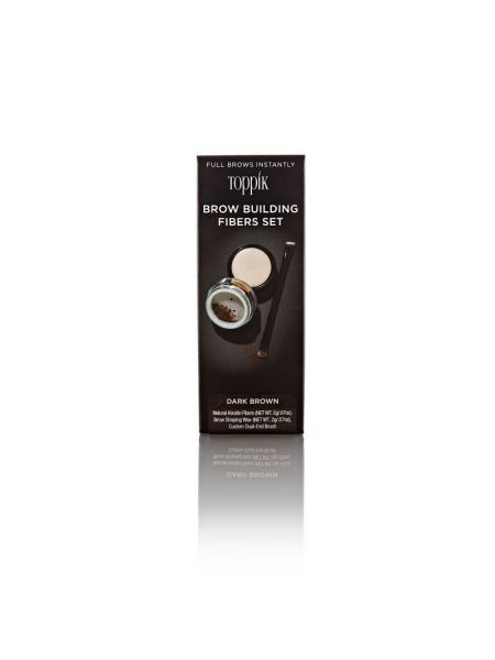 Toppik Brow Building Fibers Dark Brown