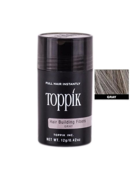 Toppik Hairbuilding Fibers Gray