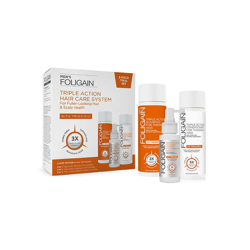 Foligain Complete System Men (Trial Set)