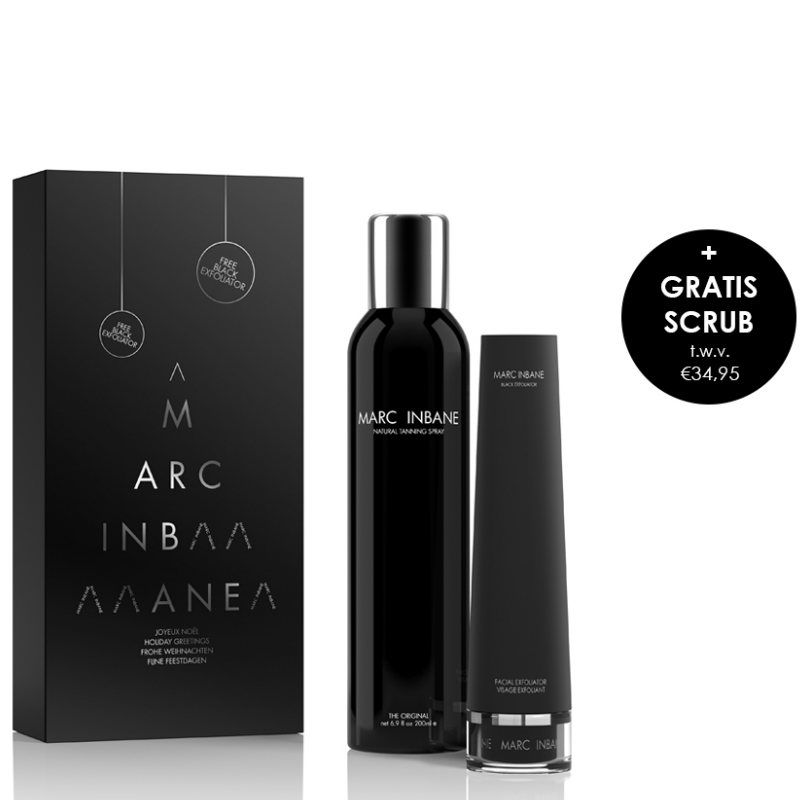 Marc Inbane Noir Set Limited Edition Incl. GRATIS Black Exfoliator 75 ml