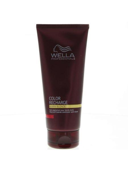 Wella Color Recharge Warm Blonde Conditioner