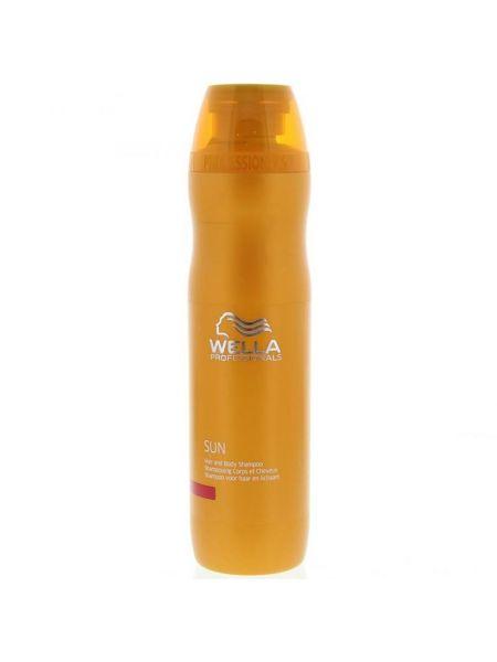 Wella Sun Hair & Body Shampoo