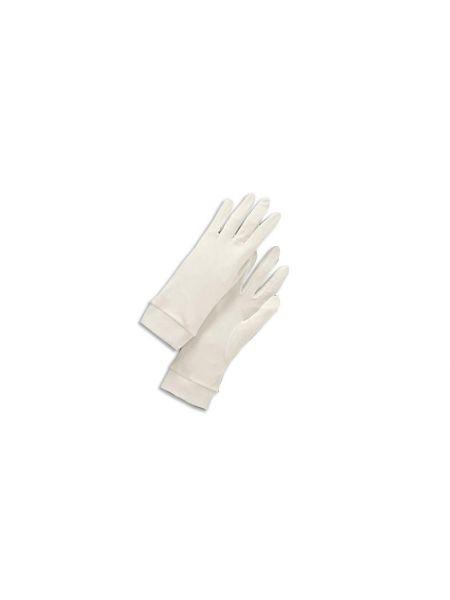 Silk Avenue Zijden Handschoenen Wit