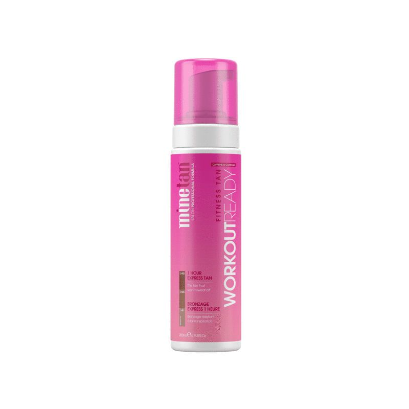 MineTan Workout Ready Self Tan Foam