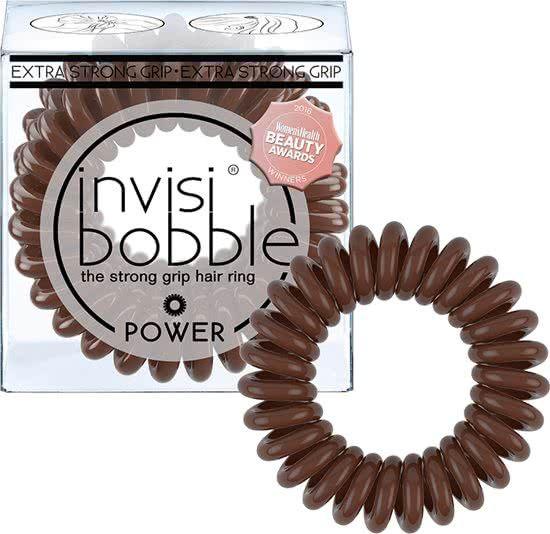 Invisibobble Power Pretzel Brown