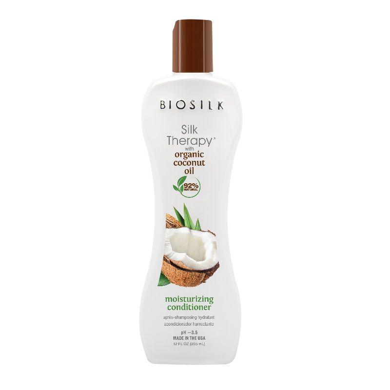BioSilk Silk Therapy with Coconut Oil Moisturizing Conditioner