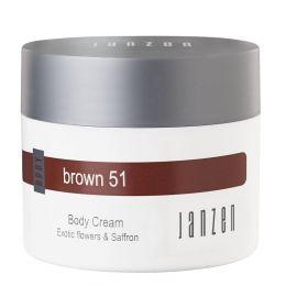 Janzen Body Cream Brown 51
