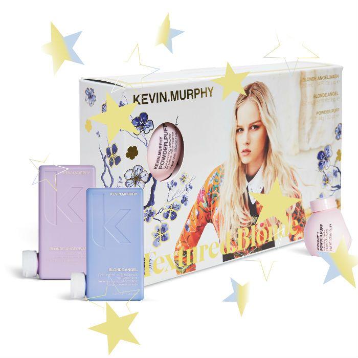 Kevin Murphy Blonde Angel Wash & Blonde Angel Rinse + GRATIS Powder.Puff