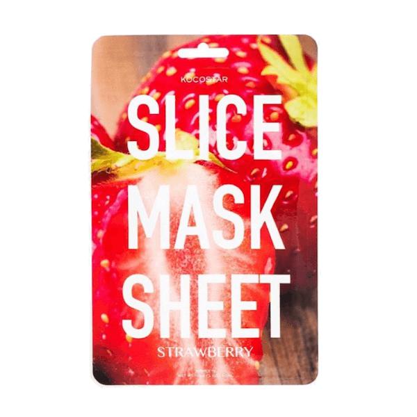 Kocostar Slice Mask Sheet Strawberry Gezichtsmasker