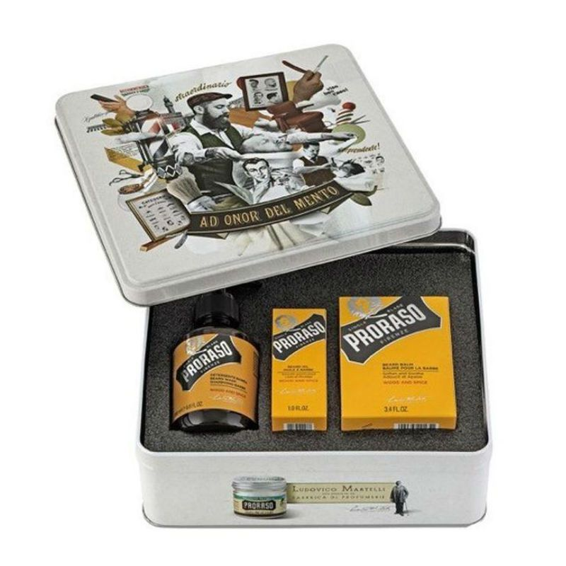 Proraso Giftset Beard Wood And Spice