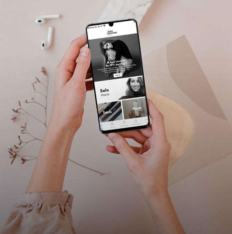 Ontvang 10% korting in onze nieuwe App!