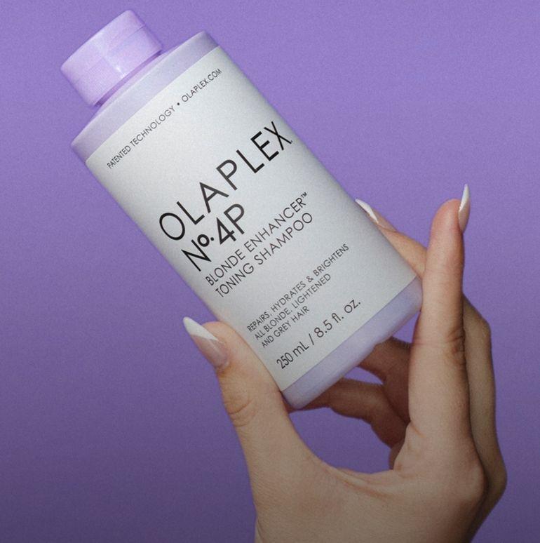 NIEUW: Olaplex No.4P Blonde Enhancer Toning Shampoo