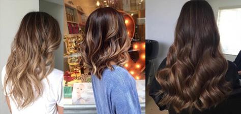 Balayge haarstyles